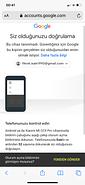 Gmail hesabıma giriş yapamıyorum